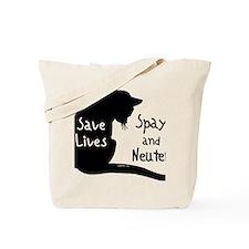 circle-savelivescat Tote Bag