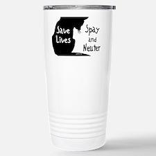 circle-savelivescat Travel Mug