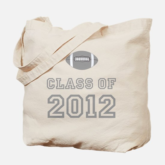 CO2012 Football Gray Tote Bag