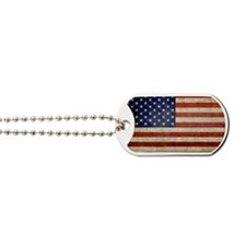 5x3rect_sticker_american_flag_old Dog Tags