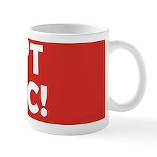 dontpanic2 Small Mug