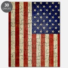 5x8_journal_old_american_flag_usa Puzzle