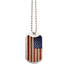 5x8_journal_old_american_flag_usa Dog Tags