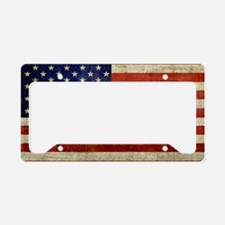 5x3oval_sticker_old_american_ License Plate Holder