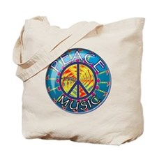 peacethrumusiccoin Tote Bag