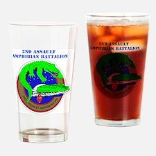 SSI- 2ND ASSAULT AMPHIBIAN  BN  WIT Drinking Glass