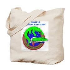 SSI- 2ND ASSAULT AMPHIBIAN  BN  WITH TEXT Tote Bag