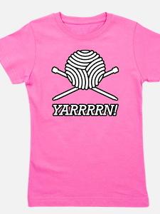 yarrrrn inked Girl's Tee