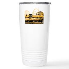 playland_orange Travel Mug