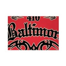Baltimore 410 Magnet Rectangle Magnet
