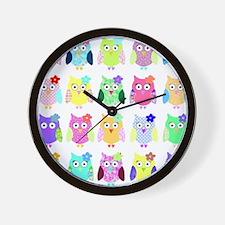 owl copy Wall Clock
