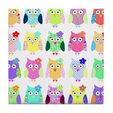owl copy Tile Coaster