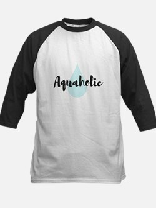 Aquaholic Baseball Jersey