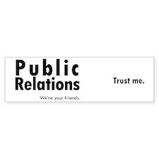 mug_pr_trust Bumper Sticker