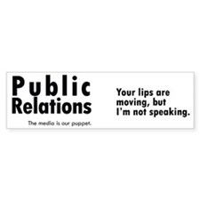 mug_pr_lips Bumper Sticker