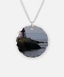 East Quoddy P Note Card Necklace