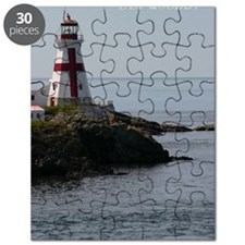 East Quoddy P Note Card Puzzle