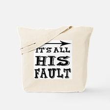 hisfault Tote Bag