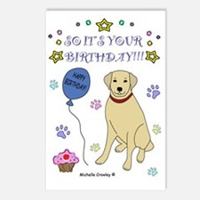 YellowLab Postcards (Package of 8)