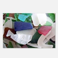 Emmas Ocean Glass Note Ca Postcards (Package of 8)