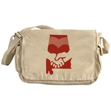 Alabama-love-W Messenger Bag