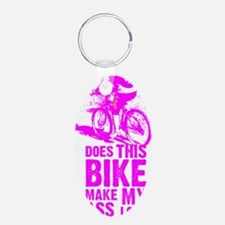 Pink power - does this bike Keychains