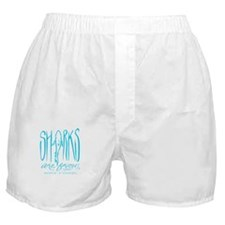 Sharks Are Friends Boxer Shorts