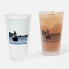 Lubec Channel Light Note Card Drinking Glass
