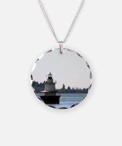 Lubec Channel Light Note Car Necklace