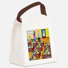 6885_rat_cartoon Canvas Lunch Bag