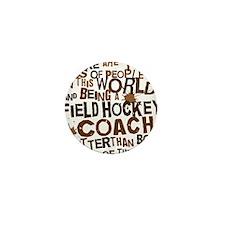 fieldhockeycoachbrown Mini Button