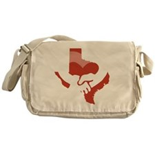 Texas-Love-W Messenger Bag