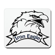iron eagle Mousepad