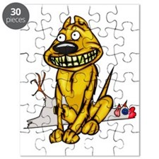 Grinning Dog and Dead Chicken Puzzle