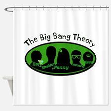 big bang tee2.png Shower Curtain