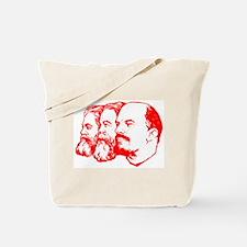 Marx, Engels & Lenin Tote Bag