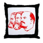 Marx, Engels & Lenin Throw Pillow
