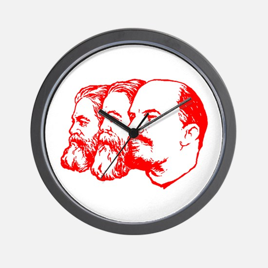 Marx, Engels & Lenin Wall Clock