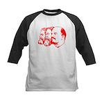 Marx, Engels & Lenin Kids Baseball Jersey