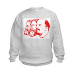 Marx, Engels & Lenin Kids Sweatshirt
