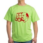 Marx, Engels & Lenin Green T-Shirt