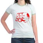 Marx, Engels & Lenin Jr. Ringer T-Shirt