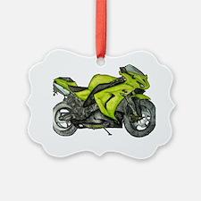 motorbike large Ornament