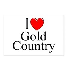 """I Love Gold Country"" Postcards (Package of 8)"