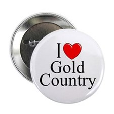 """""""I Love Gold Country"""" Button"""