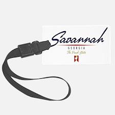 Savannah Script W Luggage Tag