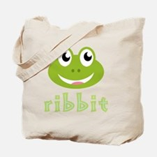 AnimalNoises_FrogRibbit Tote Bag