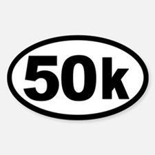 Ultra 50k Oval Bumper Stickers
