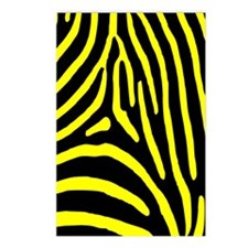 zebra 2 Postcards (Package of 8)