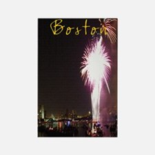 Boston_5.5x8.5_Journal_FireworksC Rectangle Magnet